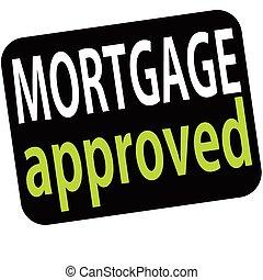 goedgekeurd, hypotheek