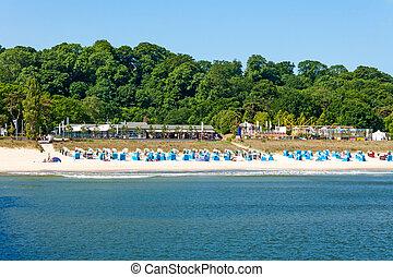 Beach in Goehren, Island of Ruegen