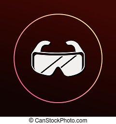 Goggle icon