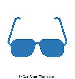 goggles glyph color icon