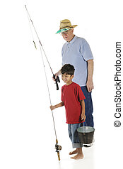 Going Fishing with Grandpa