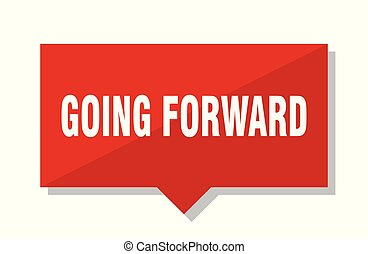 going forward red tag