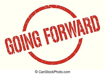 going forward stamp