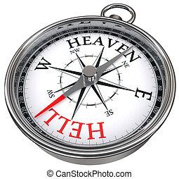 going towards heaven