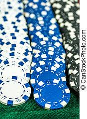 gokkende spaanders, geld