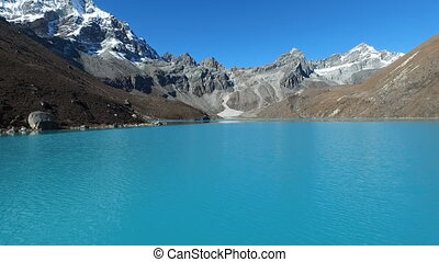 Gokyo Lake in himalaya - Gokyo Lakes are oligotrophic lakes...