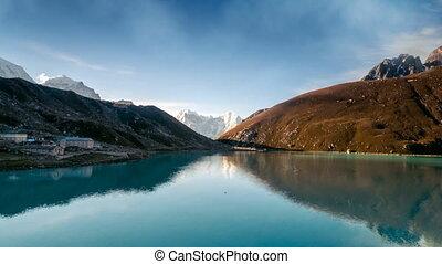 Gokyo Lake, part of Everest Base Camp trek. Sagarmatha...