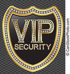 gol, schild, bescherming, veiligheid, vip