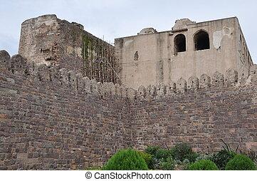 Golconda Fort in Hyderabad