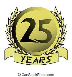 Gold 25 yeras