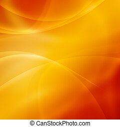 Gold Abstract Background with waves