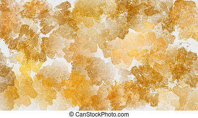 Gold abstract painting background