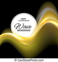 Gold abstract vector background