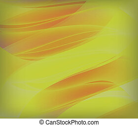 GOLD abstract waves vector