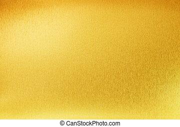gold, abstrakt, metall, gelber , beschaffenheit, hintergrund, glänzend