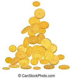 Gold American Dollar Coins