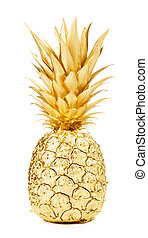 gold, ananas