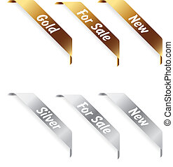 Gold and silver labels