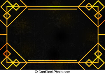 Art deco background clipart search illustration drawings and gold art deco background voltagebd Images