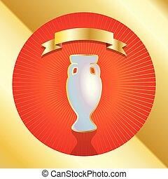 gold award cup