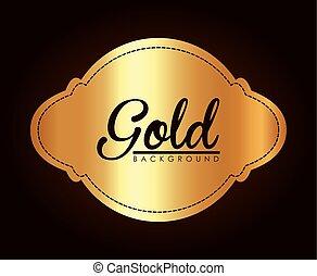 Gold background design