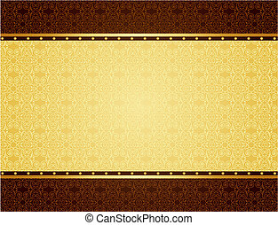 Gold background for design of cards and invitation