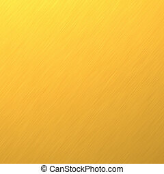 Gold background - Gold metal plate. An ingot