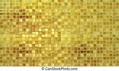 Gold background loop