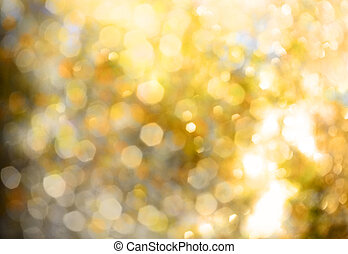 gold  background  - Defocused gold abstract  background