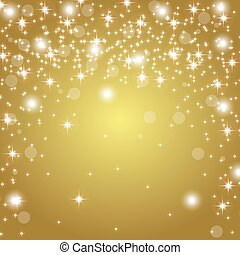 gold background with glitter