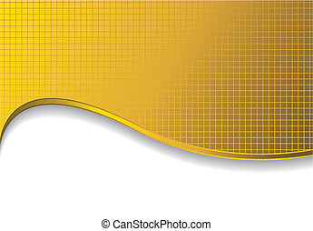 gold background with shadow