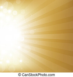 Gold Background With Star