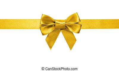 gold band, schleife