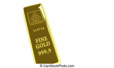 gold bars pyramid 3d animation High-definition, HD 1920 x...