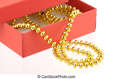 Gold Beads