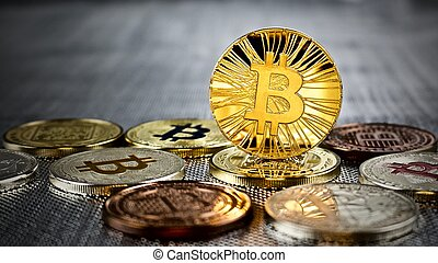 Gold bitcoin coin - Cryptocurrency physical gold bitcoin ...