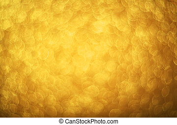 Gold bokeh background - Abstract gold bokeh background of ...