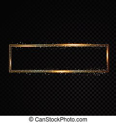 Gold brightly theater glowing retro cinema neon sign
