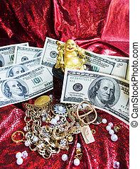 Gold Buddha is symbol of prosperity
