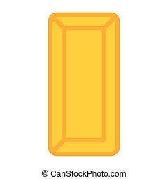 Gold Bullion Illustration - Vector illustration of gold...
