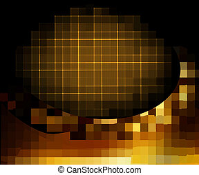 Gold business elegant abstract background