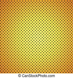Gold carbon fiber Texture background - vector Illustration
