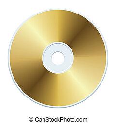 gold, cd