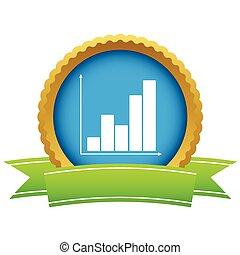 Gold chart logo