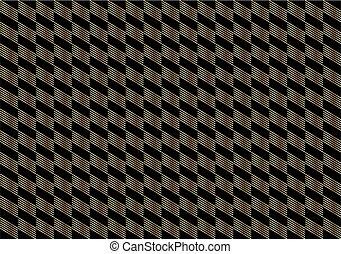 Gold Checkered pattern diagonal