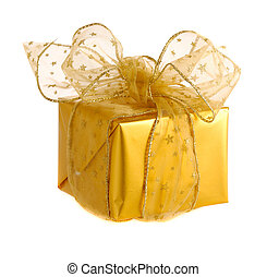 gold christmas gifts