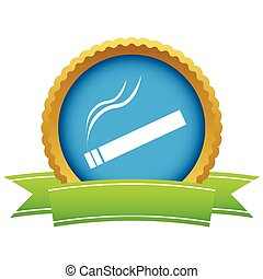 Gold cigarette logo