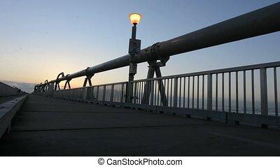 Gold Coast Pier Queensland - Sunset over the Gold Coast Pier...
