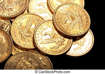 Gold Coins - American 5 dollars gold coin