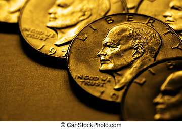 Gold Coins for Wealth and Riches